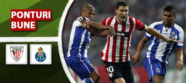 Bilbao vs FC Porto – Champions League – Analiza si pronostic