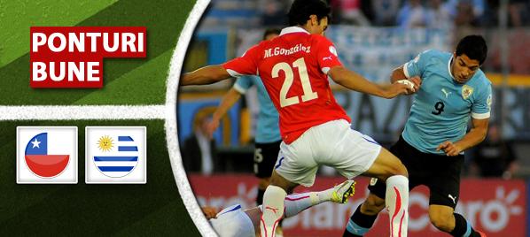 Chile vs Uruguay – Meci amical – Analiza si pronostic