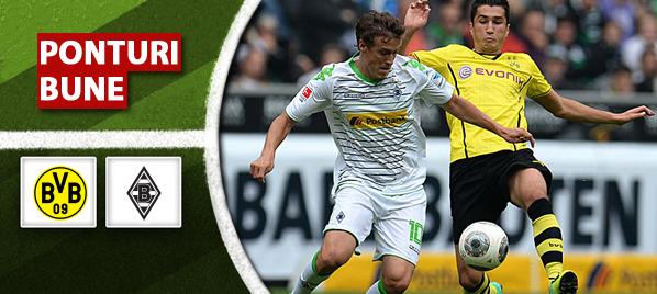Dortmund vs M'gladbach – Bundesliga – Analiza si pronostic