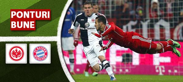 Frankfurt vs Bayern – Bundesliga – Analiza si pronostic