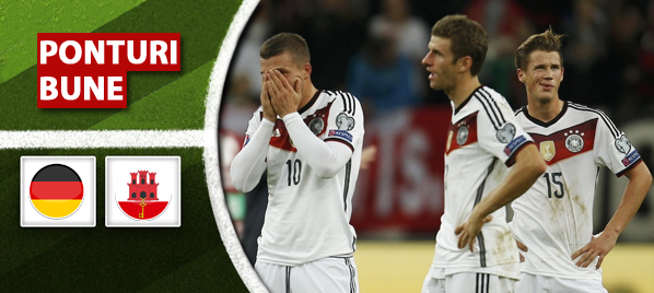 Germania vs Gibraltar - Calificari Euro 2016 - Analiza si pronostic