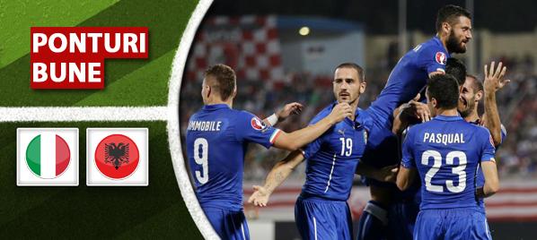 Italia vs Albania – amical – analiza si pronostic