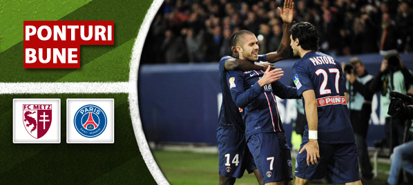 Metz vs PSG – Ligue 1 – analiza si pronostic