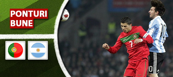 Portugalia vs Argentina – Meci amical – Analiza si pronostic