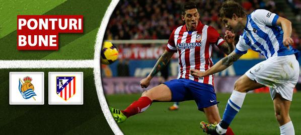 Real Sociedad vs Atletico Madrid - Primera Division - Analiza si pronostic