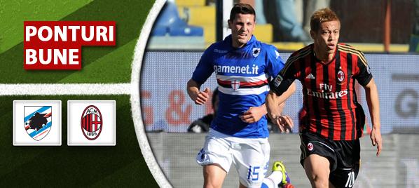 Sampdoria vs AC Milan–Serie A–analiza si pronostic