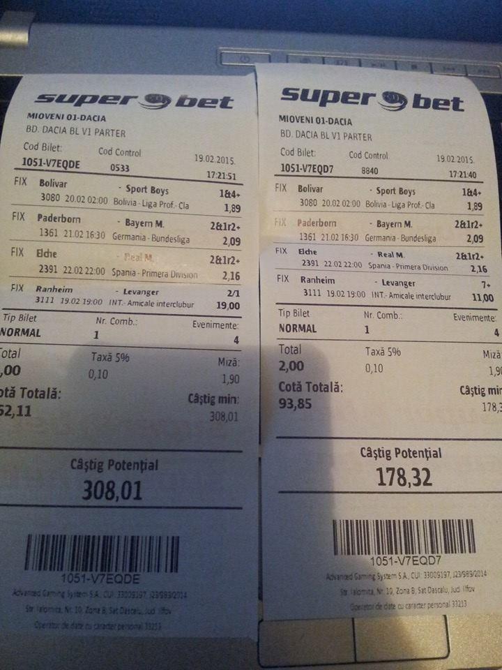 Bilete Pariuri : Madalin este pregatit pentru Europa League  !