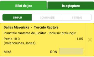 Biletul Zilei : Spectacol lituanian in NBA?