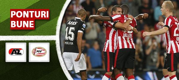 Alkmaar vs PSV – Eredivisie – analiza si pronostic