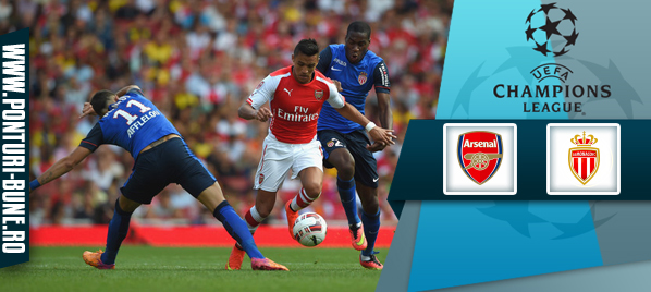 Arsenal vs Monaco – Champions League – analiza si pronostic