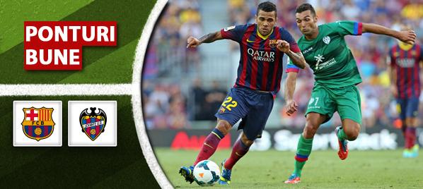 Barcelona vs Levante – Primera Division – analiza si pronostic
