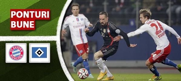 Bayern München vs Hamburger SV – Bundesliga – analiza si pronostic