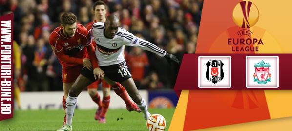 Besiktas vs Liverpool – Europa League – Analiza si pronostic