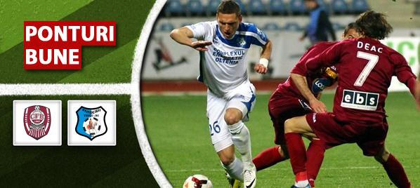 CFR Cluj vs Pandurii Targu Jiu – Liga 1 – analiza si pronostic