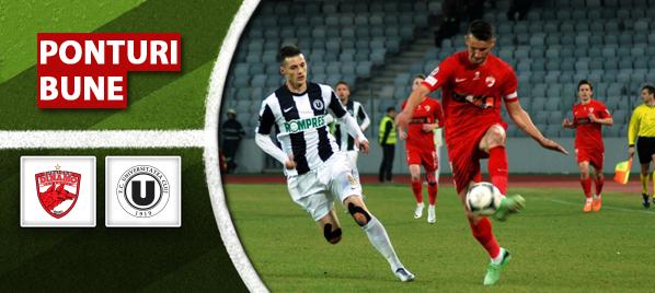 Dinamo vs Universitatea Cluj – Liga 1 – analiza si pronostic