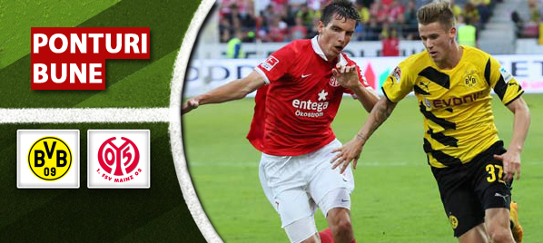 Dortmund vs Mainz – Bundesliga – analiza si pronostic