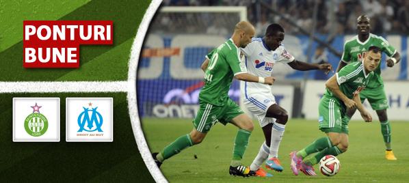 Saint-Etienne vs Marseille –Ligue1–analiza si pronostic