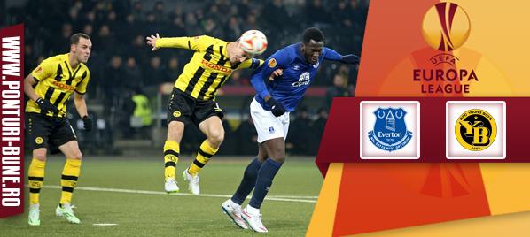 Everton vs Young Boys – Europa League – Analiza si pronostic