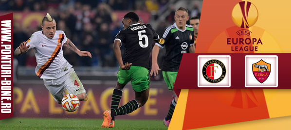 Feyenoord vs AS Roma – Europa League – analiza si pronostic