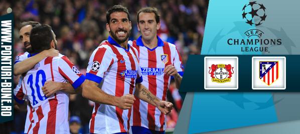 Bayer Leverkusen vs Atletico Madrid – Liga Campionilor – Analiza si pronostic