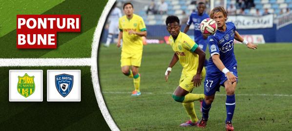 FC Nantes vs SC Bastia – Ligue 1 – analiza si pronostic
