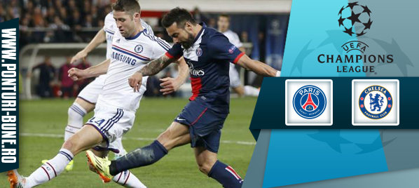Paris Saint-Germain vs Chelsea FC – Liga Campionilor – analiza si pronostic