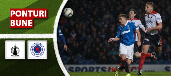 Falkirk vs Rangers – Scotia – analiza si pronostic