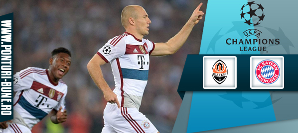 Shakhtar vs Bayern Munchen – Champions League – Analiza si pronostic