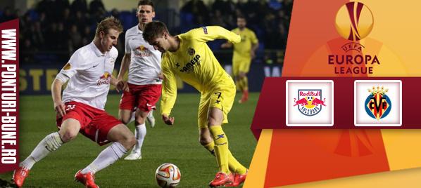 Salzburg vs Villarreal – Europa League – Analiza si pronostic