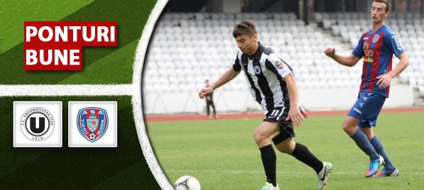 Universitatea Cluj vs ASA Targu Mures – Liga 1 – analiza si pronostic