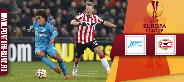 Zenit vs PSV – Europa League – analiza si pronostic