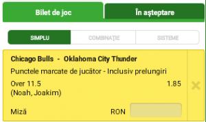 Biletul Zilei : Russell Westbrook sau Joakim Noah?