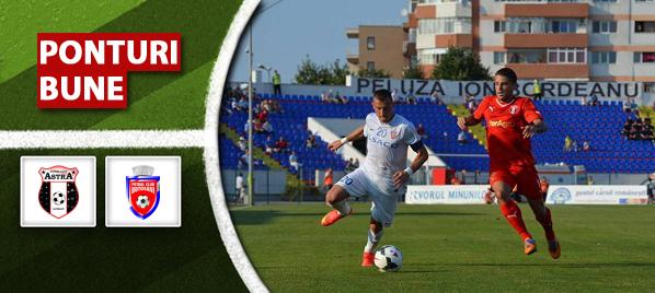 Astra Giurgiu vs FC Botosani – Liga 1 – analiza si pronostic