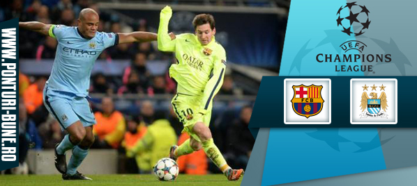 Barcelona vs Manchester City – Champions League – Analiza si pronostic