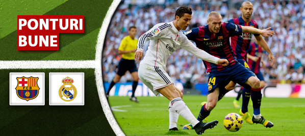 Barcelona vs Real Madrid – Primera Division – analiza si pronostic