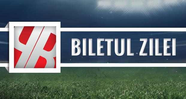 Biletul zilei 19.08.2015: Dubla zilei in Champions League