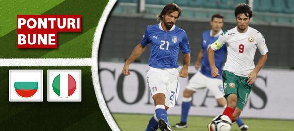 Bulgaria vs Italia – Preliminarii Euro 2016 – Analiza si pronostic