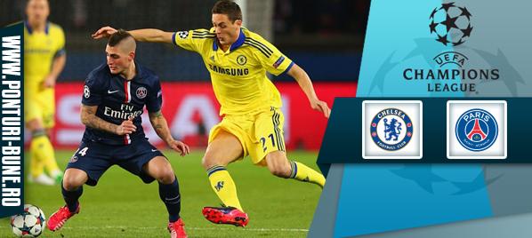 Chelsea vs PSG – Champions League –analiza si pronostic