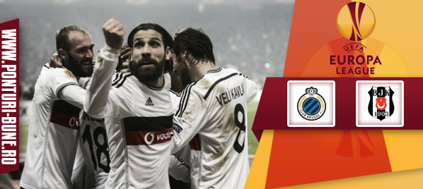 Club Brugge KV vs Besiktas Istanbul – Europa League – analiza si pronostic