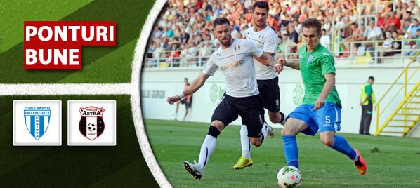 CS Universitatea Craiova vs Astra Giurgiu – Liga 1 – analiza si pronostic