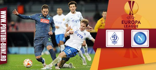 Dinamo Moscova vs Napoli – Europa League – Analiza si pronostic