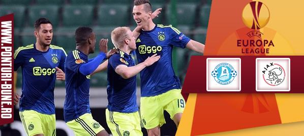 Dnepr vs Ajax – Europa League – analiza si pronostic