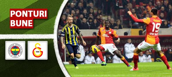 Fenerbahce vs Galatasaray – Super Lig – analiza si pronostic