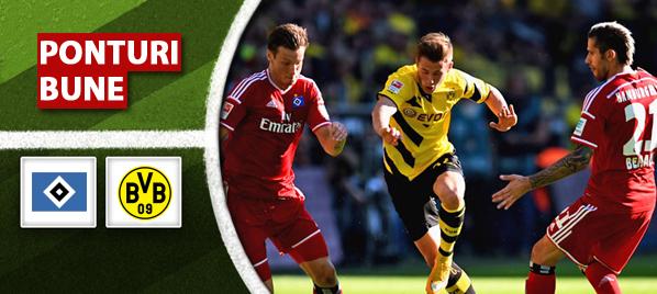 Hamburg vs Dortmund – Bundesliga – analiza si pronostic