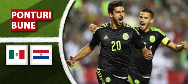 Ponturi pariuri – Mexic vs Paraguay – Meci amical