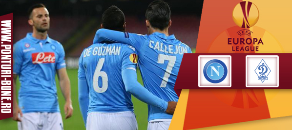 Napoli vs Dinamo Moscova – Europa League – analiza si pronostic