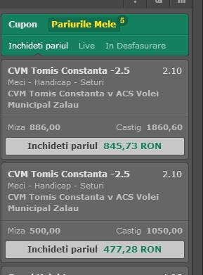 Ponturi Volei : Scadere de cote si zvonuri din liga romaneasca