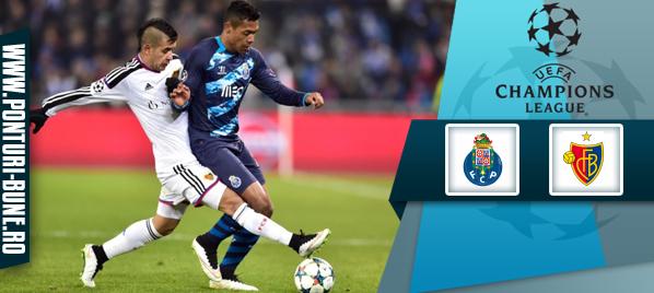 Porto vs Basel – Champions League –analiza si pronostic