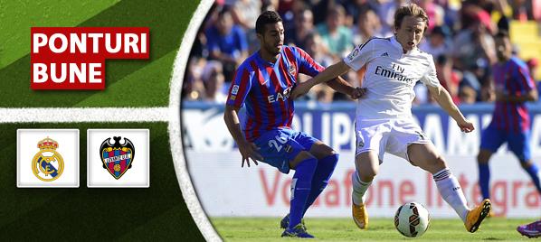 Real Madrid vs Levante – Primera Division – Analiza si pronostic