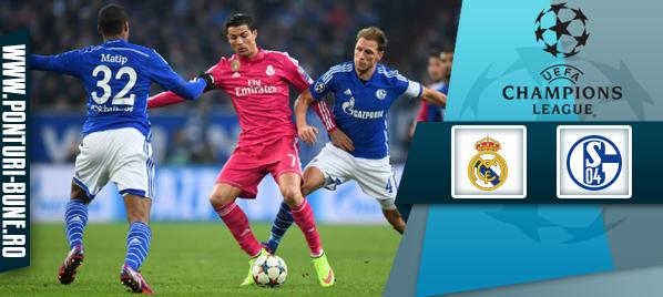 Real Madrid vs Schalke – Champions League – Analiza si pronostic